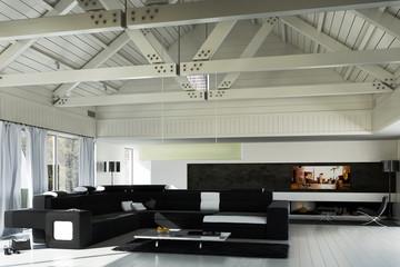 Sanierte Landhaus Architektur