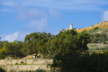 Lighthouse - Malta Countryside