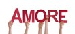People Holding Amore