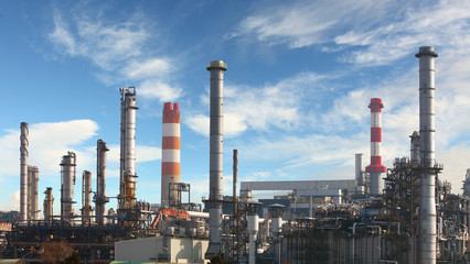 Oil refinery - factory