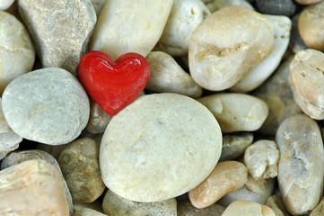 Herz und Steine