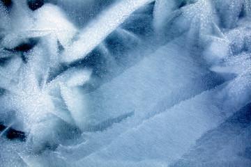 Sea ice pattern