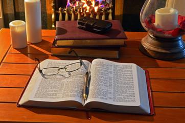 Student Fireside Study