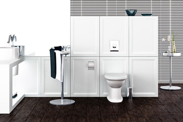 Bathroom (detail)