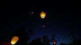 launch Chinese lanterns