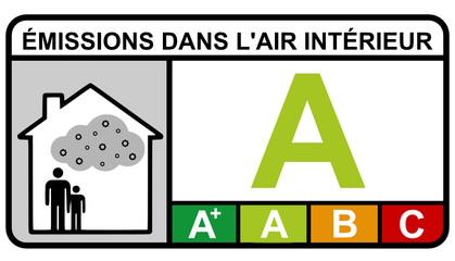 Etiquette : émissions dans l'air intérieur