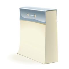 Paper tear-off calendar