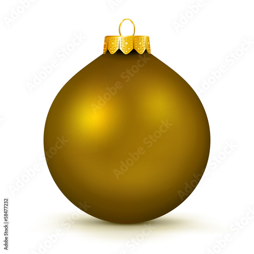 Weihnachtskugel, Christbaumkugel, Dekoration, Deko, Bronze, 3D