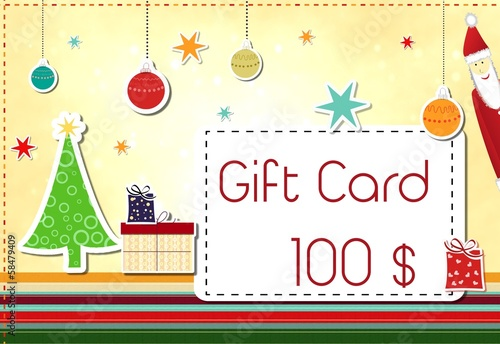 gift card - image is available without text, too
