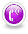 "Violet Icon ""Telephone"""