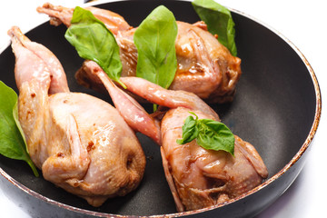 pickled quail