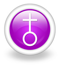 "Violet Icon ""Church"""