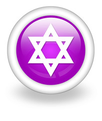 "Violet Icon ""Star Of David"""
