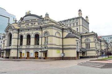 Kiev Opera House in Kiev city, Ukraine.
