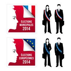 Elections municipales et élections européennes 2014