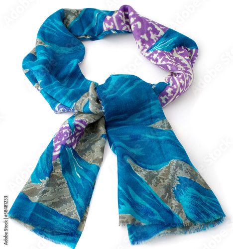 colored scarf or pashmina