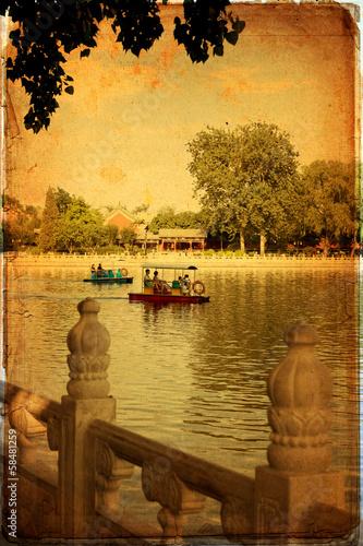 Foto op Aluminium Beijing Beijing - Houhai Lake