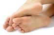 Ein Paar Füße