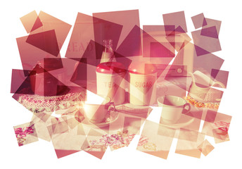 tea time collage