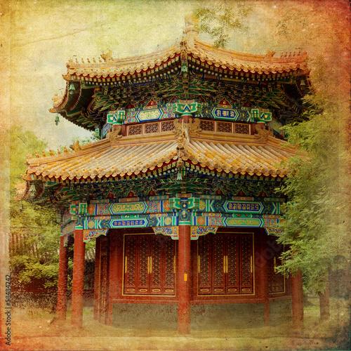 Foto op Aluminium Beijing Beijing, Lama Temple - Yonghe Gong Dajie