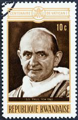 Pope Paul VI (Rwanda 1970)