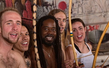 Singing Capoeira Performers