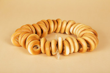 Heap of the connected bagels