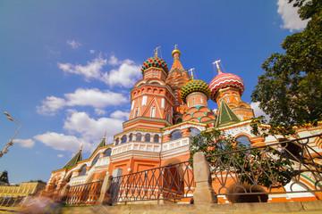 sunny Moscow kremlin