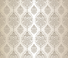 Seamless silver pattern.