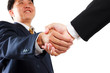 business man shaking hands