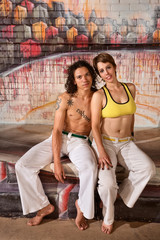Cute Capoeira Couple