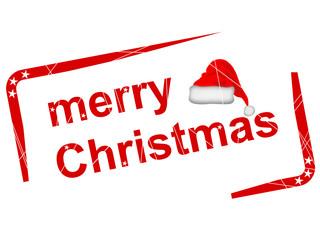 Stempel - merry Christmas