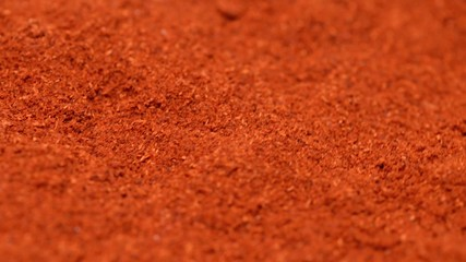 Paprika Powder (Loopable background video clip)