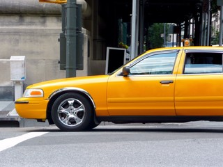 taxi amarillo de new york