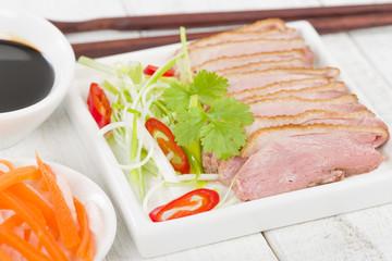 Tea-Smoked Duck - Vietnamese style green tea smoked duck breast