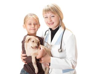 reception at the vet