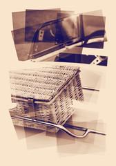 car picnic basket