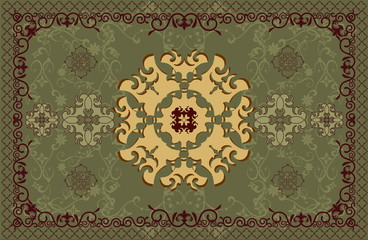 carpet vector pattern