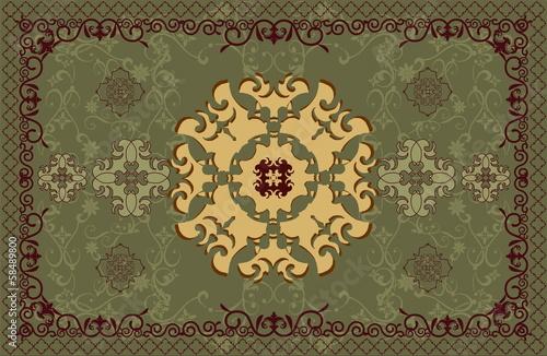 carpet vector pattern