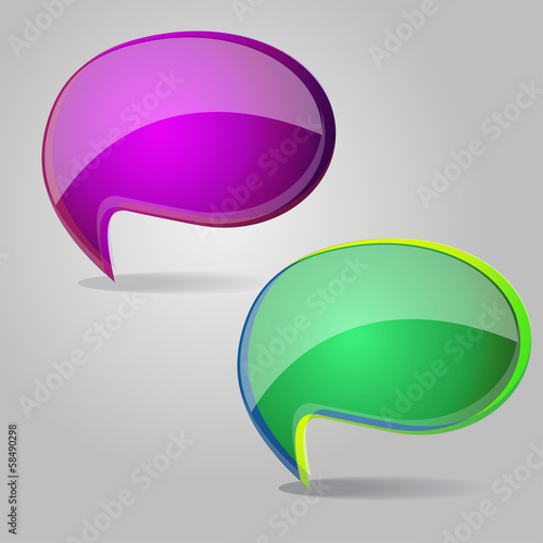 Talk Balloon Abstract Icon