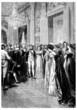 Napoleon & Josephine : Court Scene - begining 19th