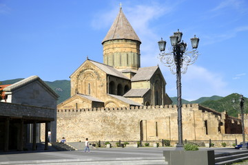 Mtsketha Svetitskhoveli Cathedral Square Georgia