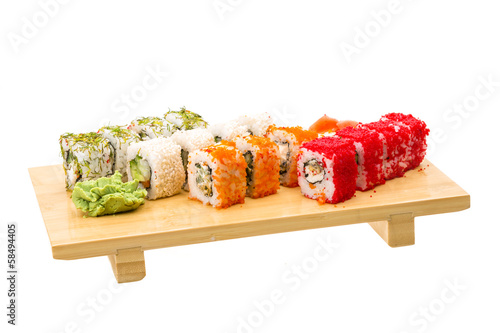 Japan roll assortment