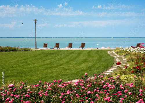 Lake Balaton Beach