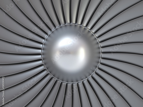 Jet Engine fan