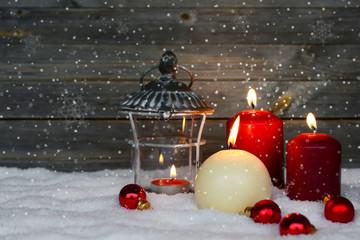 Kerzenlicht am Abend