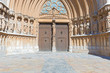 Portal of Tarragona Cathedral Spain