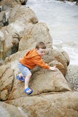 Boy at the Beach