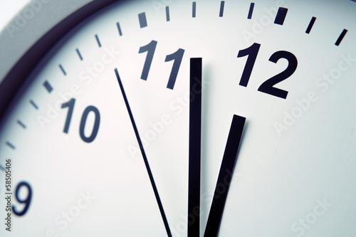 Leinwandbild Motiv Clock