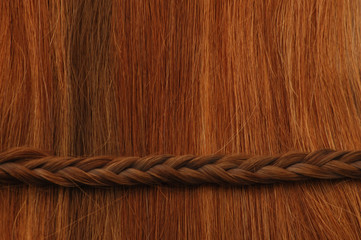 Hair Braid Horizontal